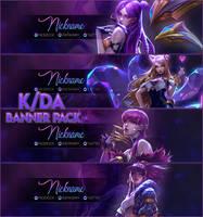 K/DA -  Stream Banners