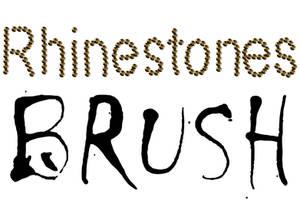 Rhinestone brush