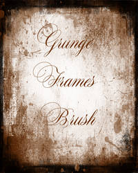 Grunge Frames Cc Brush
