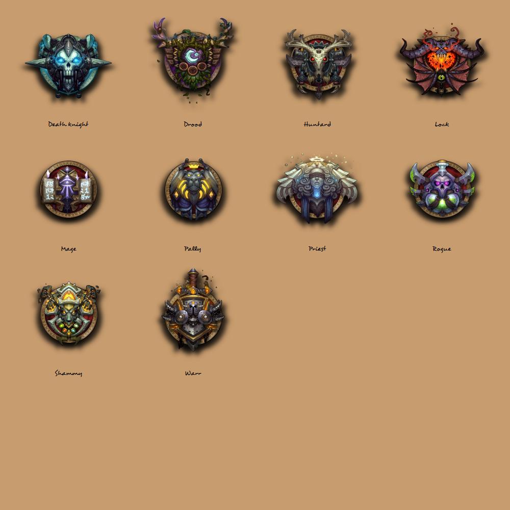 World of Warcraft Dock Icons by Ryvermist on DeviantArt