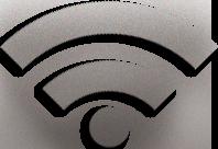 WiFi brushed metal icon by worldoftacos