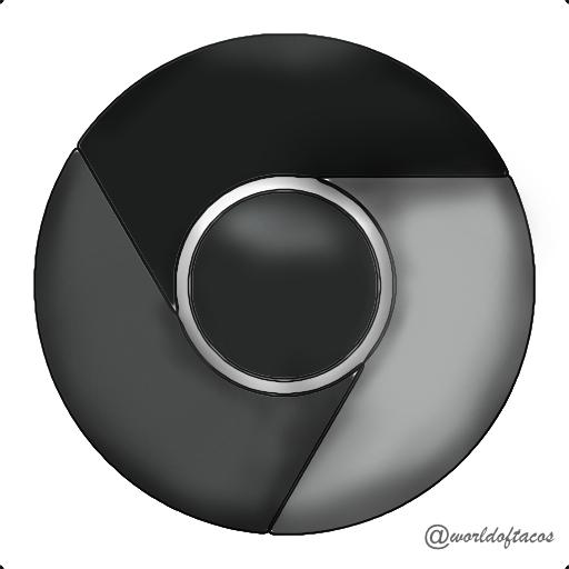 Black And White Google: Google Chrome Sketch Icon By Worldoftacos On DeviantArt