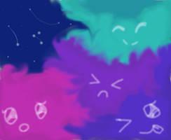 Fluffy Galaxy