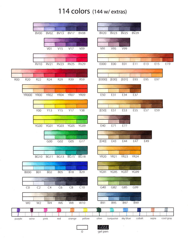 24 essential copic color strings by alamedyang on deviantart 24 essential copic color strings by alamedyang nvjuhfo Image collections