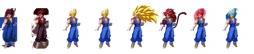 Dragon Ball Z Extreme Butden Vegito Transformation