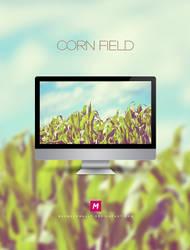 Corn field by Mahm0udWally