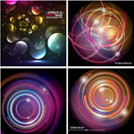 Circular Effects Vector by azhaan