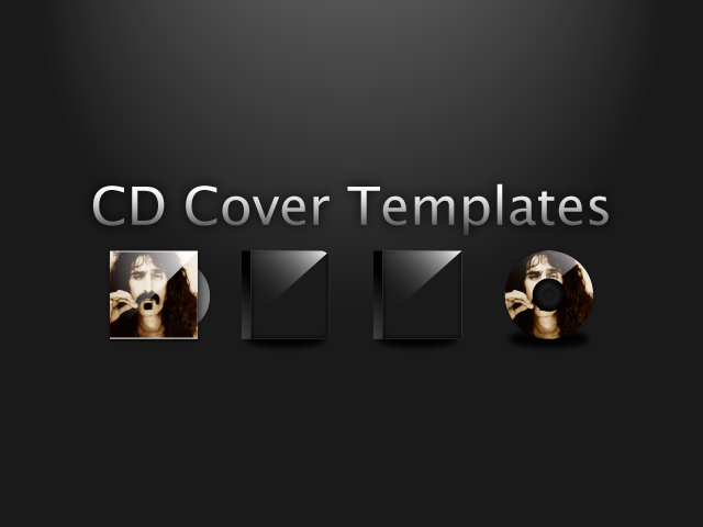 Cd Cover Templates By Alphahw On Deviantart