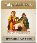 Tokyo Godfathers by Joesandal