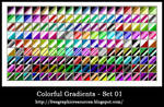 Colorful gradiants collection2
