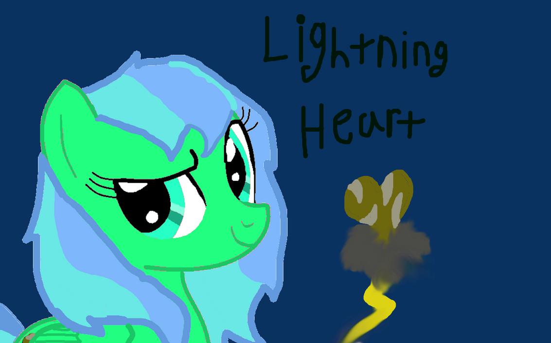 My pony OC: Lighting Heart by Animals29337