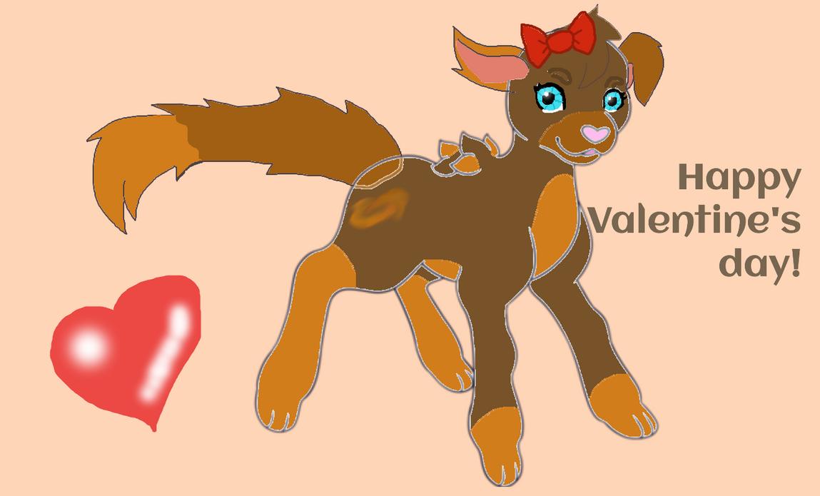 Happy Valentine's Day by Animals29337