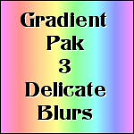 Gradient Pak3 Delicate Blurs by tina1138