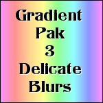 Gradient Pak3 Delicate Blurs