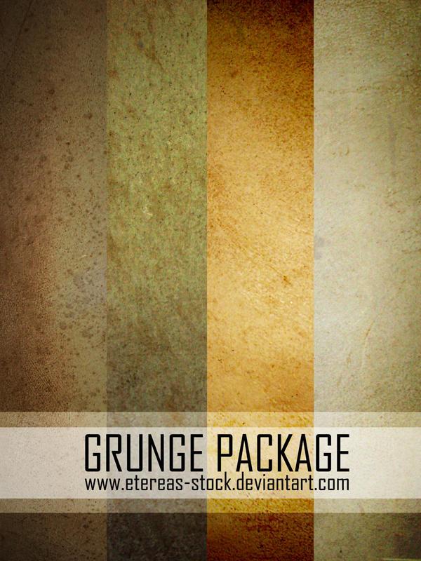 Grunge Package by Etereas-stock