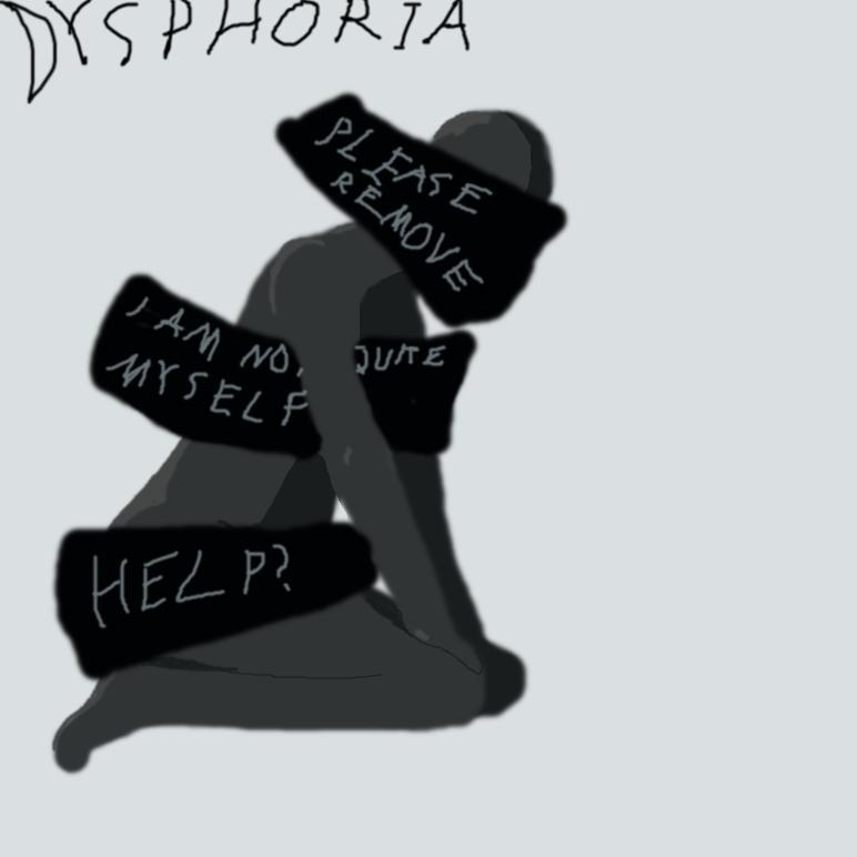 Dysphoria by EnthrallinglyBadArt