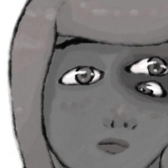 Triclops girl by EnthrallinglyBadArt