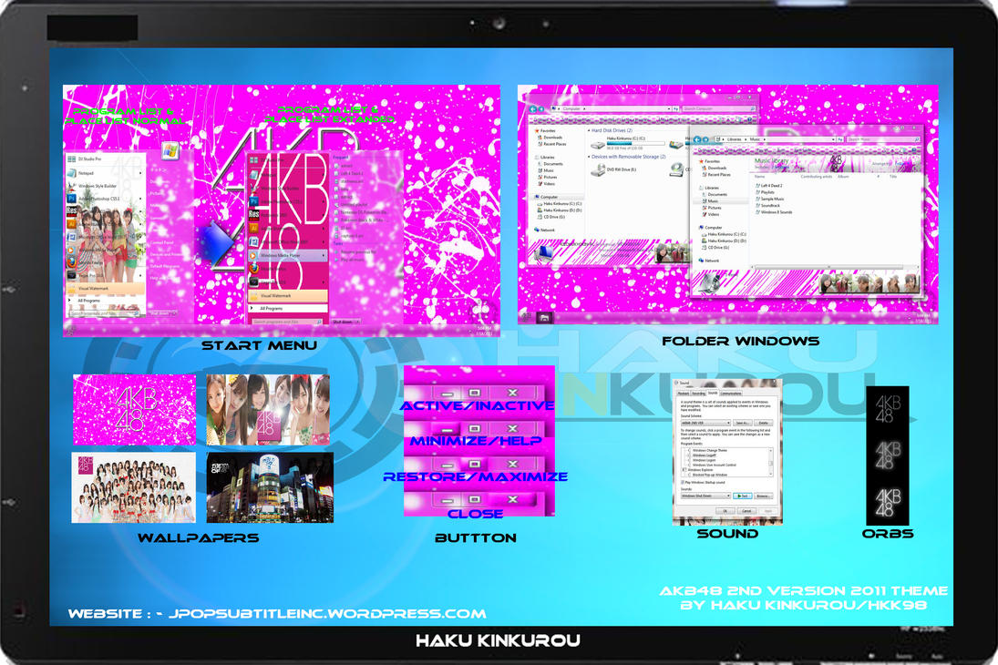 [ 2011 theme ] AKB48 2ND VER by HKK98
