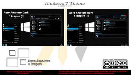 Aero Amature Dark ~ Windows 8 Inspire ~ by HKK98