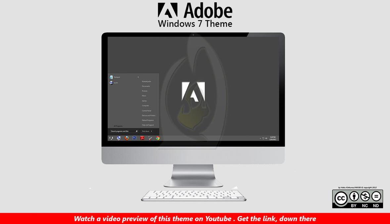 [2012 Theme] Adobe Theme [ Win 7 ] by HKK98