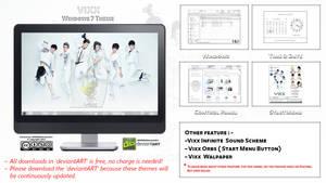 [2013 Theme] Vixx Kpop for Windows 7