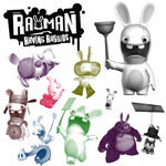 Rayman Rabbids by martyJswizzle