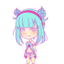 Daoko Girl Shimeji by AliciaHunstman