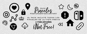 Pinceles Pack #4