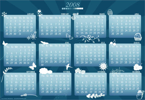 2008 Calendar Pack