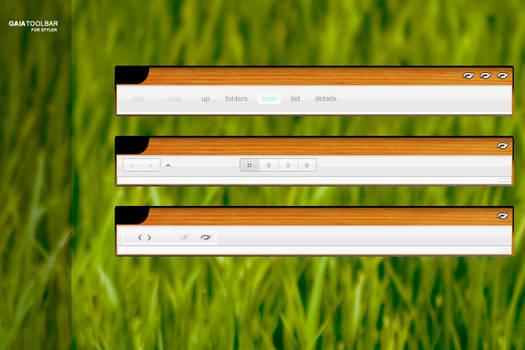 GAIA Styler Toolbar