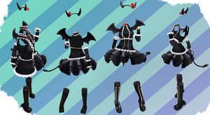 MMD NJXA Outfit 3