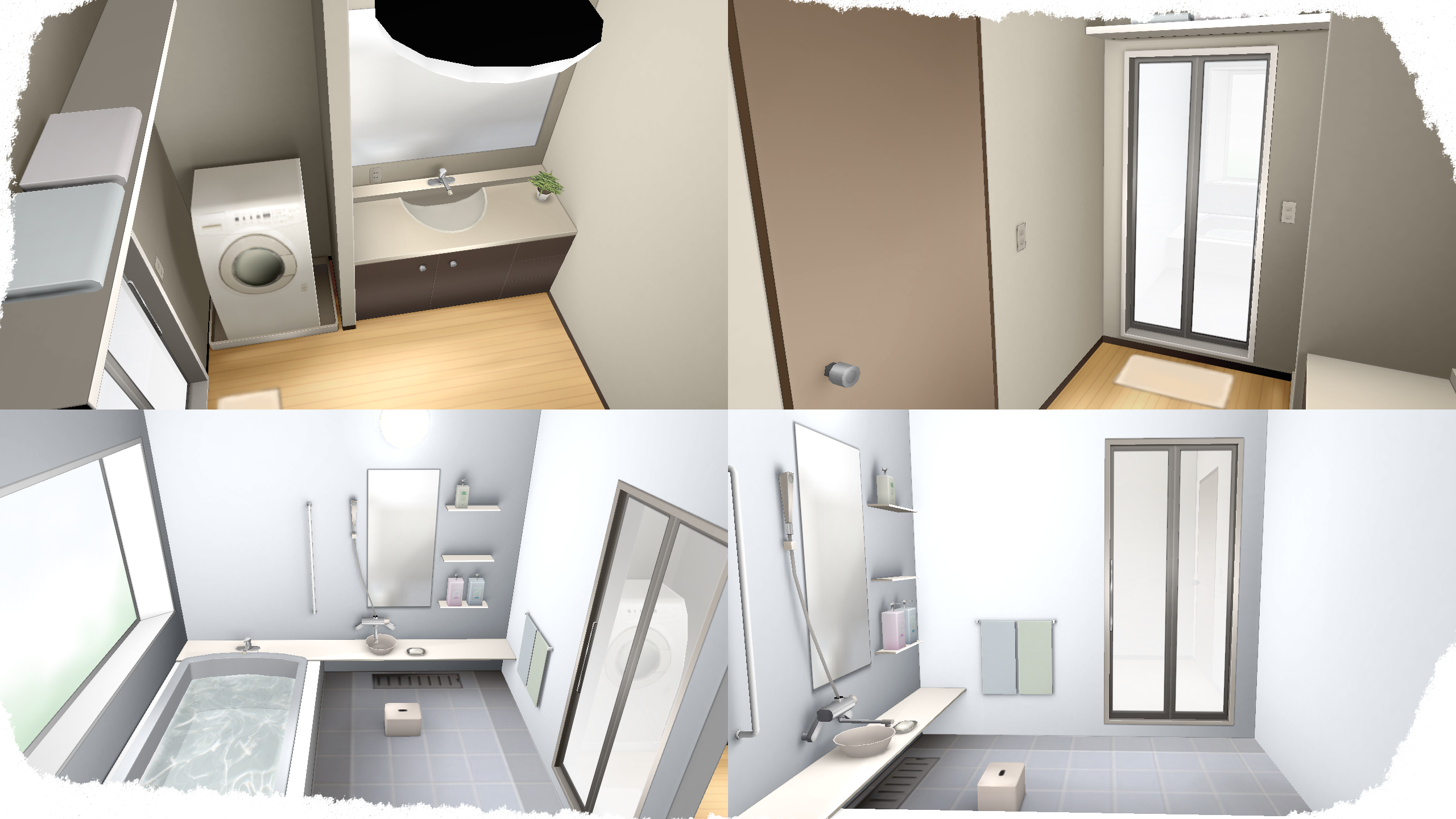 Interiors Bathrooms on MMD-Stages - DeviantArt