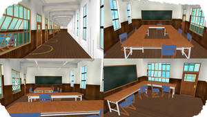 MMD Stage 64 by MMD3DCGParts