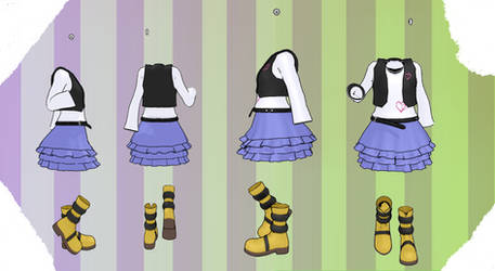 MMD Outfit 89