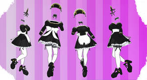 MMD Outfit 120