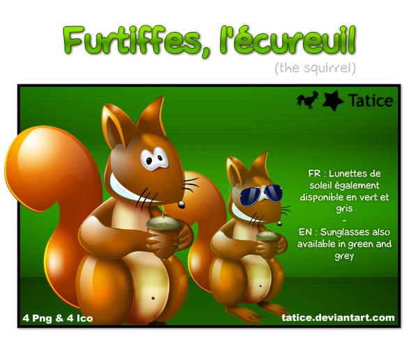 Furtiffes l'ecureuil by tatice