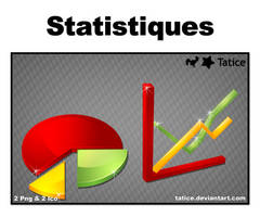 Statistics, icon pack by tatice