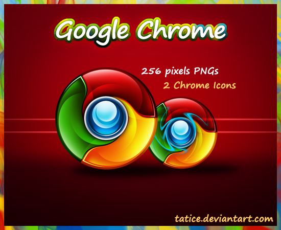 Google Chrome Icon by tatice