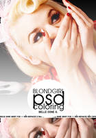 BlondGirl PSD Coloring by belledoneg