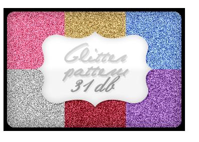 Glitter pattern pack by bernadett98