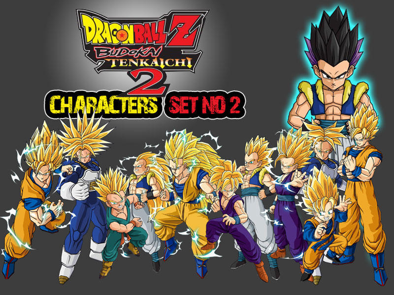 dragon ball z characters set2 by the lonely wolf - Dragon B