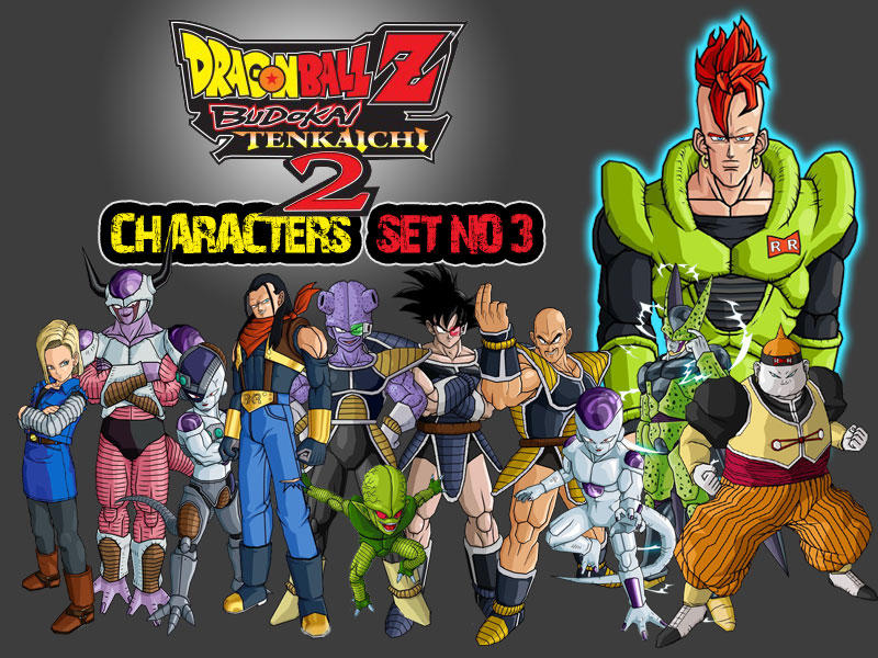 Dragon Ball Z Characters Set3 by TheLonelyWolf on DeviantArt