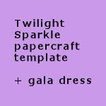Twilight Sparkle papercraft