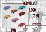 RED VELVET LOGO PNG #19