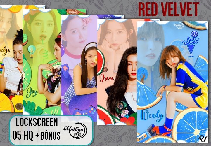 Red Velvet Power Up Lockscreen Wallpaper By Yuyo8812 On Deviantart