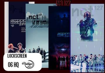 NCT 127 SUPERHUMAN #LOCKSCREEN/WALLPAPER by YUYO8812