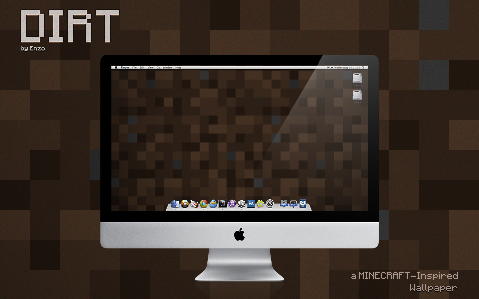 Dirt minecraft inspired by enzofx
