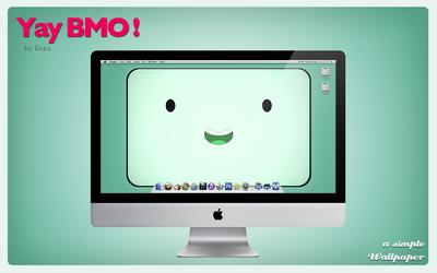 Yay BMO! - Wallpaper