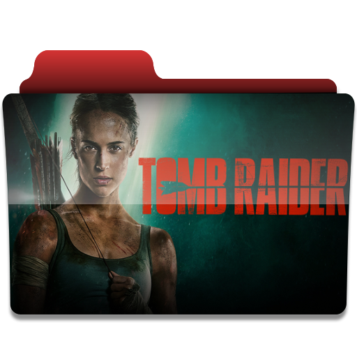 Tomb Raider V2 folder icon by PanosEnglish