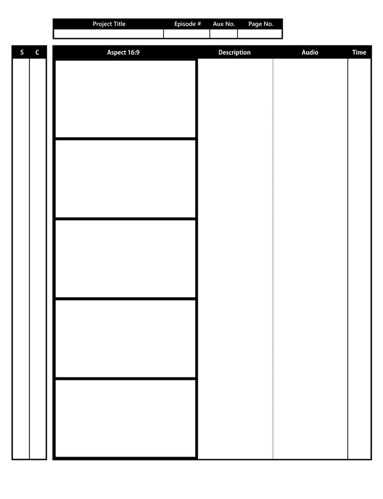Anime storyboard template ip by yurilapointe on deviantart anime storyboard template saigontimesfo